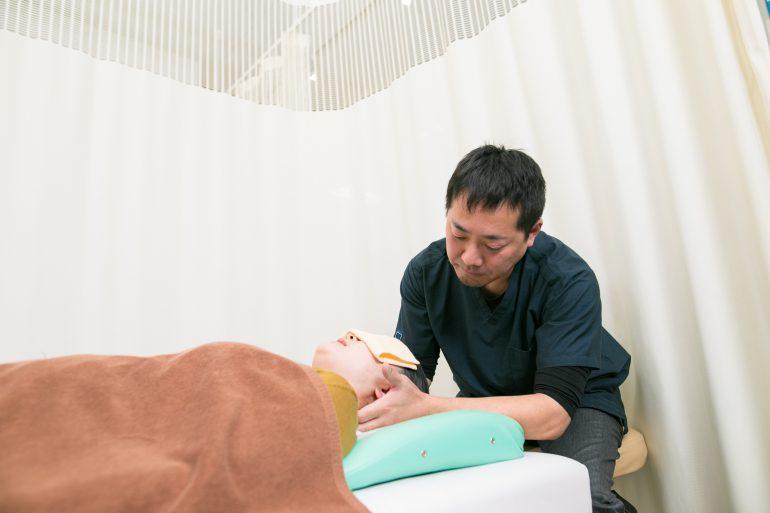 首の治療|田村郡の大和田接骨院